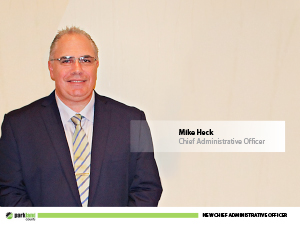 Mike Heck, Parkland County's Chief Administrative Officer